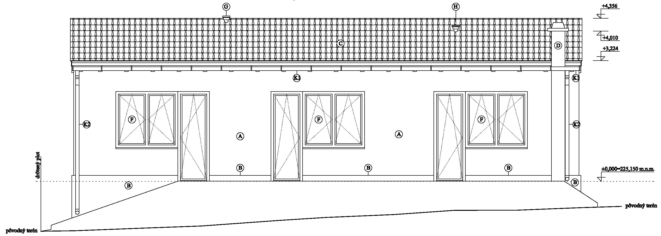 Borová - projekt (novostavba)